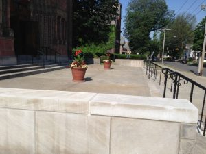 Repairs to Plaza Completed, June 2021