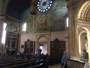 """Church Readied for """"Cabrini"""" Filming, Sept 5, 2021"""
